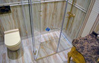 Altın Sarısı Banyo Dekorasyonu
