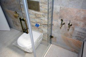 eskitme tarzı banyolar