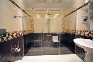 engelsiz duş alanları