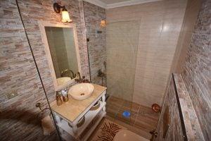 tek cam duş paneli