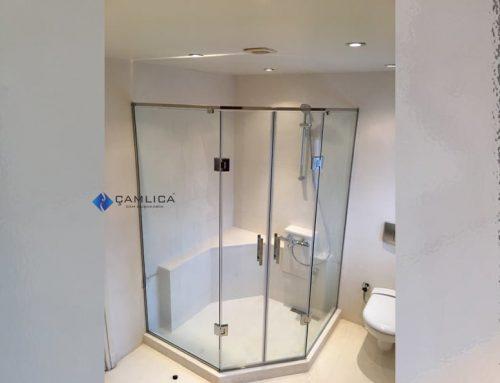Özel Duş Kapısı Çözümleri Açılı Kenar