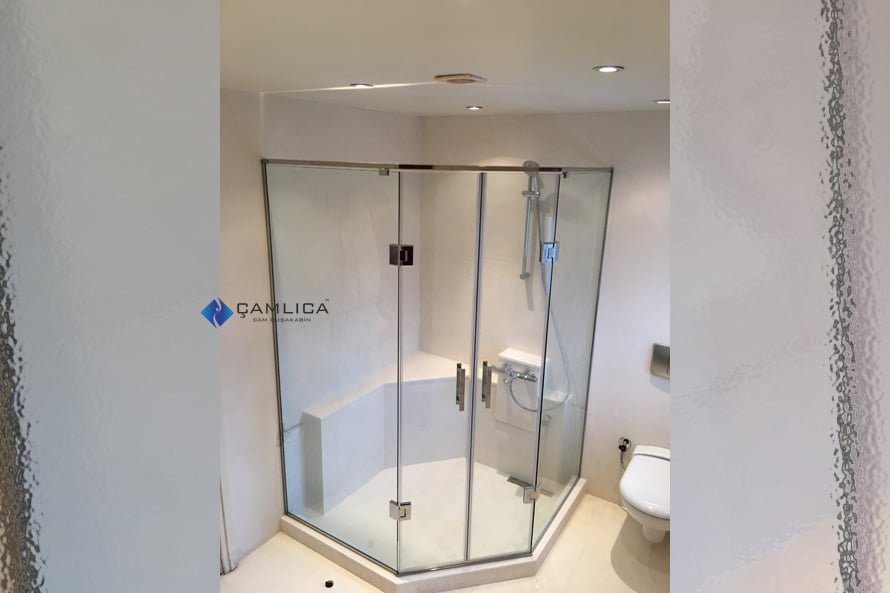 Özel Duş Kapısı Çözümleri [Açılı Kenar]