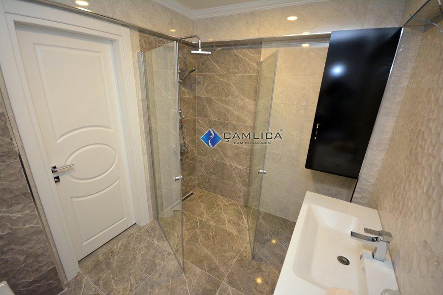 boy menteşeli duşakabin kapısı