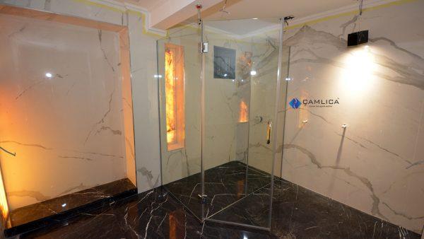 dışa açılır duş kapısı